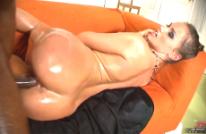 Tori Black Oils Up And Gets Fucks BBC