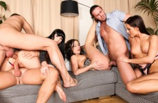 Sexy Orgy: here fucking in all holes